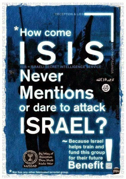 Image result for israel and isis connection